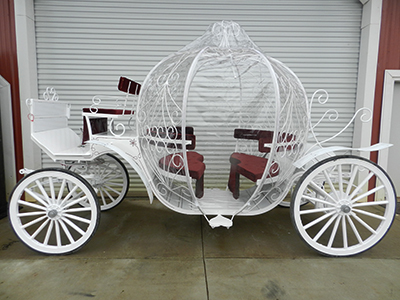 Cinderella Wedding Carriage Fairfax Virginia