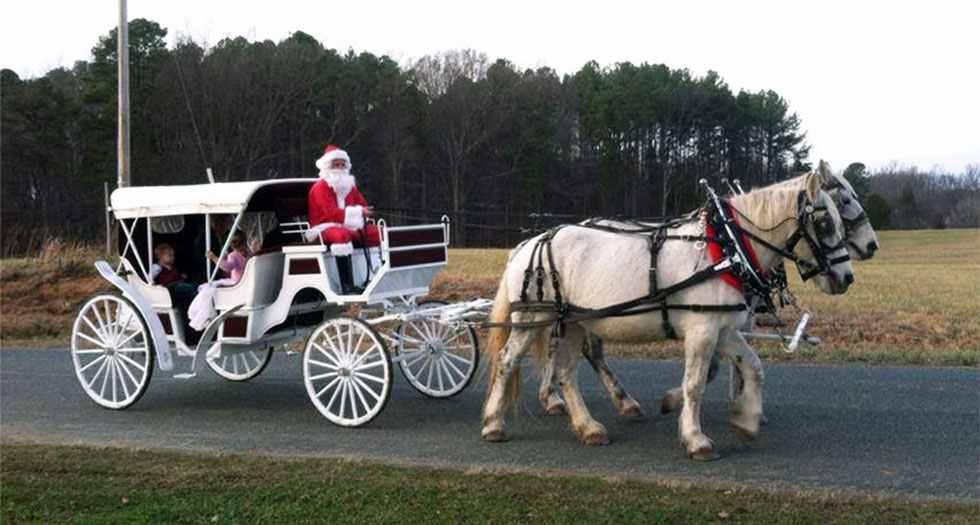 Santa Claus Carriage Ride